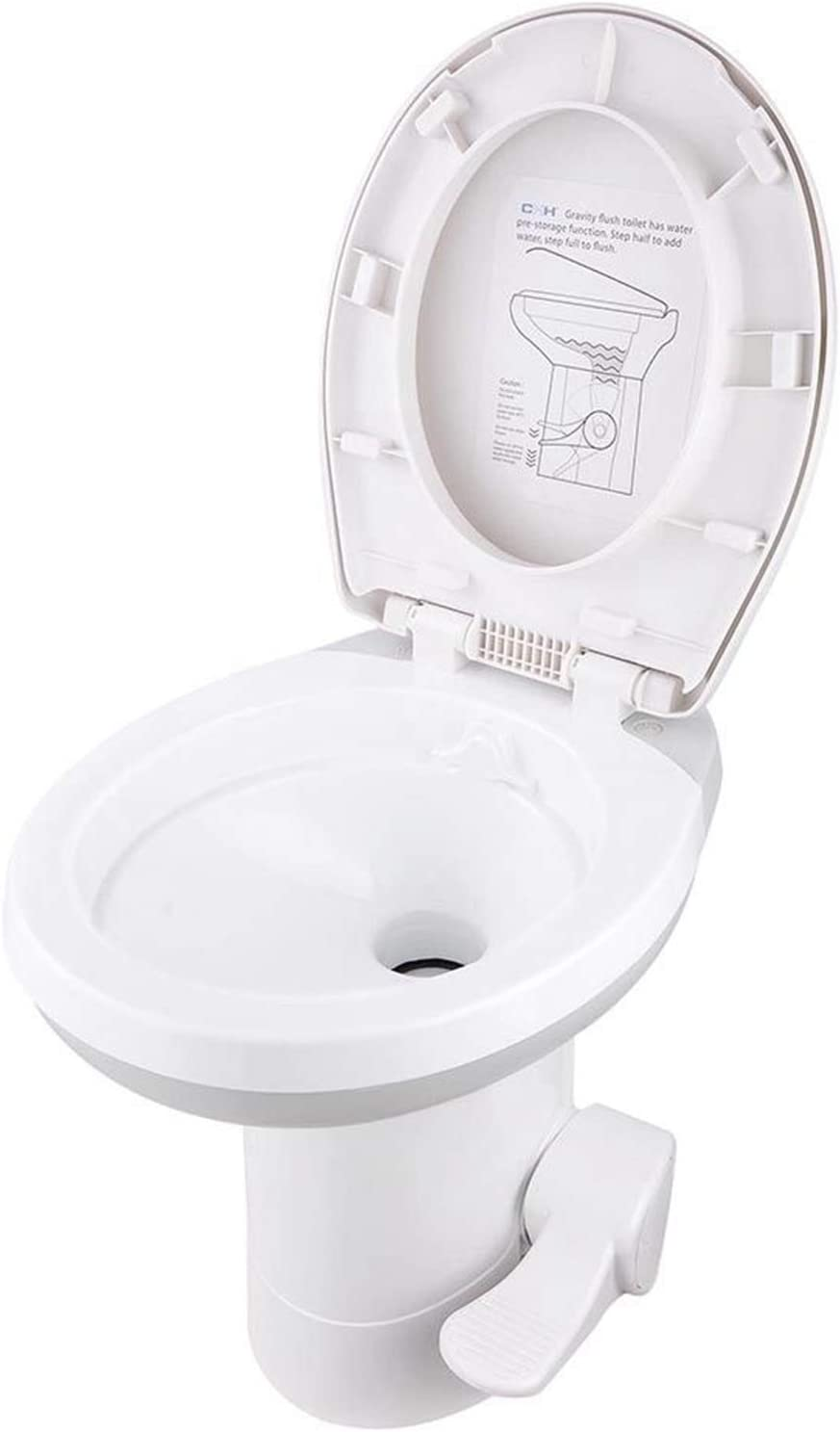 OTU Flushing Toilet Outdoor Toile Camping Potty Chicago Mall Durable Inventory cleanup selling sale