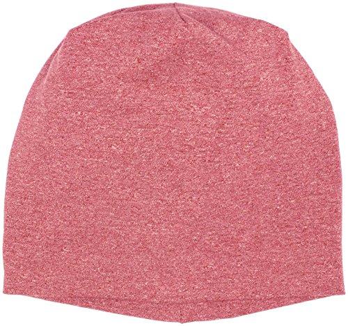 masterdis heather jersey beanie magenta 10460