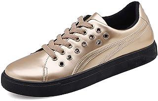 CAIFENG Sneaker di Moda for Gli Uomini Scarpe Sportive Scarpe da Uomo in Pizzo in Pelle PU in Pelle PU Brevetta in Vernice...