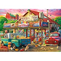 500-Pieces Buffalo Games Americana Collection Country Store Jigsaw Puzzle