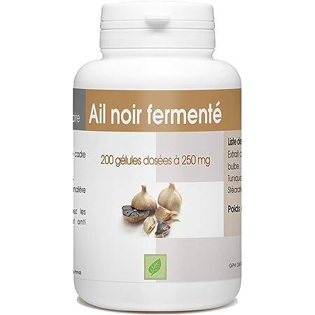 Ail Noir Fermenté - 250mg - 200 gélules - Allium sativum L.