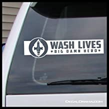 Wash Lives BIG DAMN HEROES Serenity, Firefly-inspired Vinyl Decal