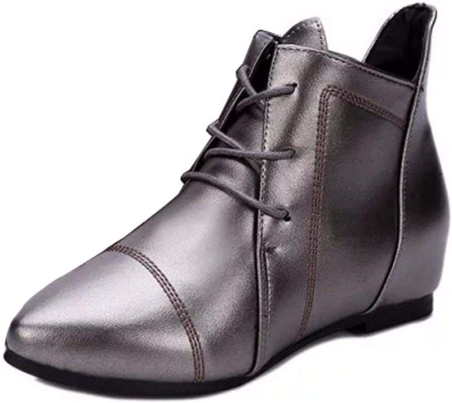 In Winter and Winter, Women's shoes lace up, Martin Boots, Women's Pointed pins, Big Yards and Short Boots