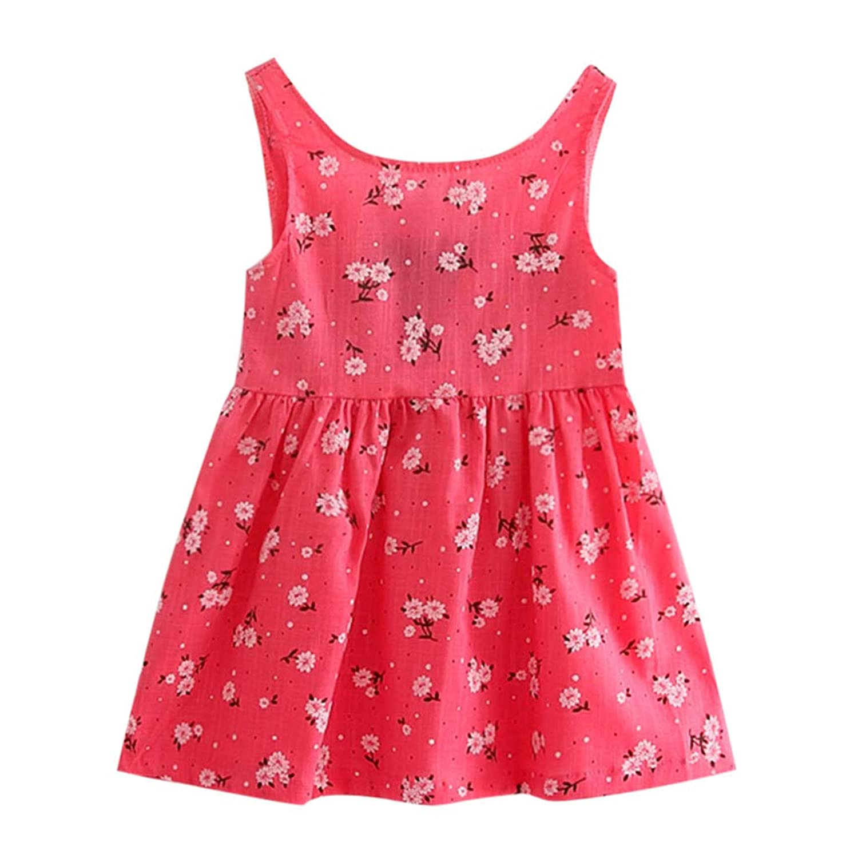 ワンピース ドレス スカート 幼児 女の子 赤ちゃん服 プリンセスドレス ノースリーブ 花柄 蝶結び オシャレ かわいい お出かけ 通園 普段着 娘の日 誕生日 プレゼント ギフト
