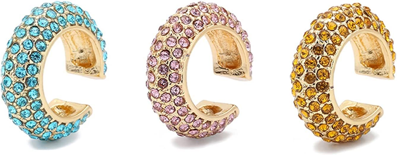 YNX MLKCL Fashion Pearl Earrings, Small Earrings, Clip-on Earrings, Women's Wedding Jewelry (Metal Color : 3pcs Style 8)