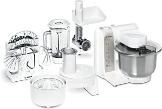 comprar comparacion Bosch MUM4880 Robot de cocina con accesorios, 600 W, capacidad de 3.9 litros, color blanco y acero