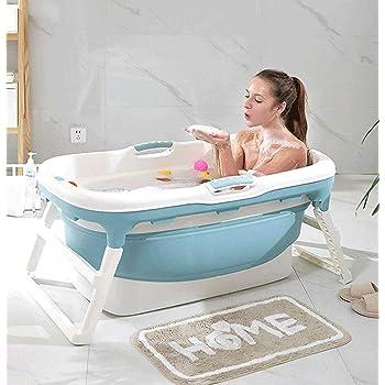 Baignoire Pliant Adulte Baignoire Portable Baignoire Domestique Baignoire Spa Plastique Antiderapant Baignoire Isolee A Amazon Fr Cuisine Maison