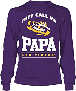FanPrint LSU Tigers T-Shirt - They Call Me Papa