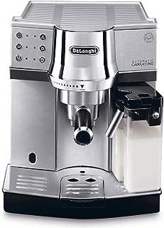 De'Longhi Pump Espresso and Cappuccino Coffee Machine - Silver EC 850.M