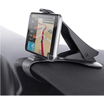 King Shine Car Chimti Dashboard Phone Holder Mount Mobile Clip Stand for All Smartphones || 3.5 to 6.5 inches Smartphones ||