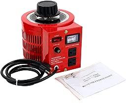 YaeCCC Voltage Transformer AC Variable Voltage Converter 20A (Max 2000VA)