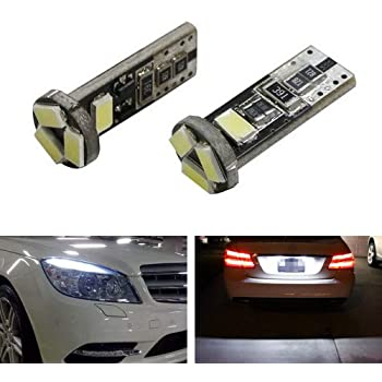 Mercedes S-Class W220 3SMD LED Error Free Canbus Side Light Beam Bulbs Pair