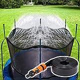 Neusky Trampolin Sprinkler Trampolin Spray Wasserpark, Garten Sprinkler ,wasserspielzeug ,Sommer...