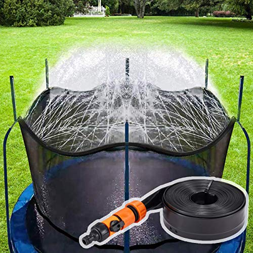 Neusky Trampolin Sprinkler Trampolin Spray Wasserpark, Kinder wasserspielzeug (10M)