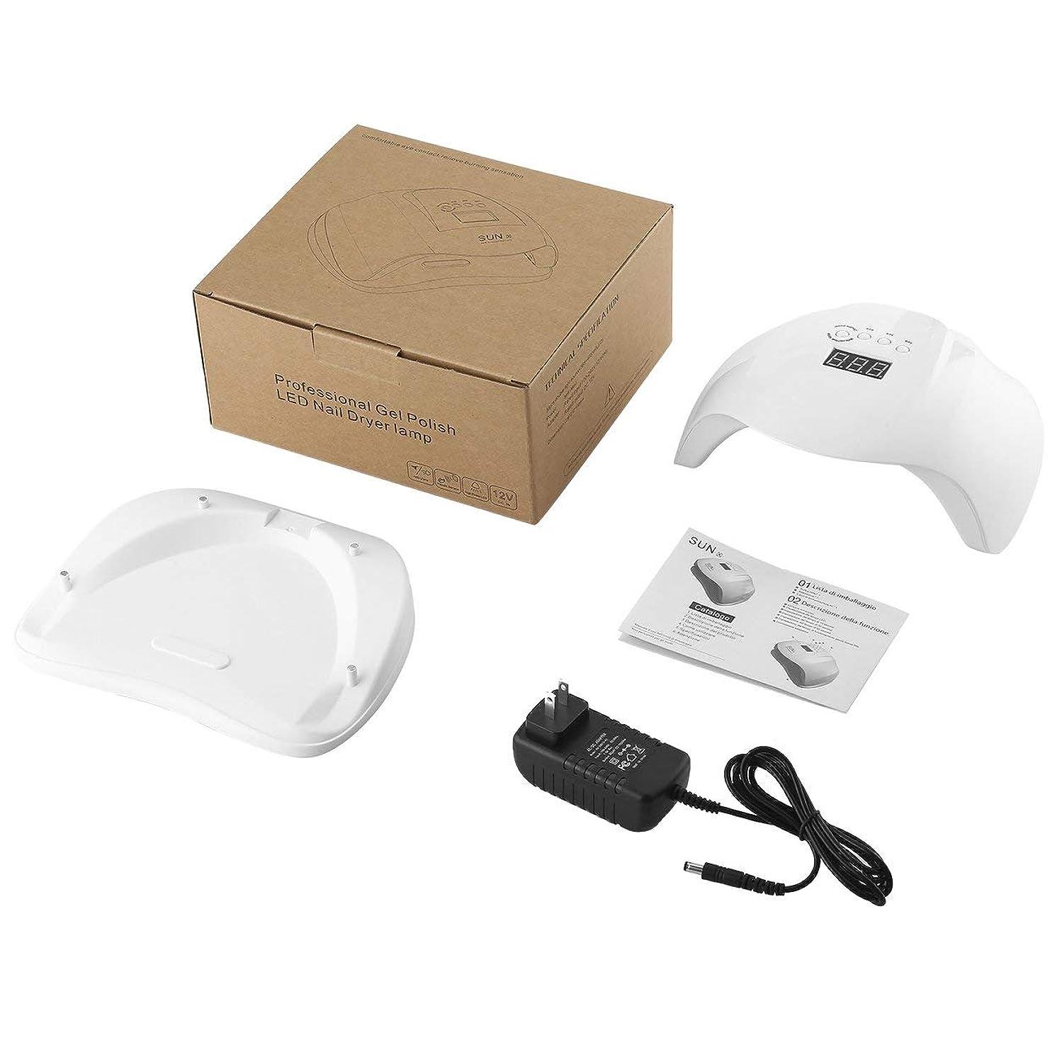 どれか自分の機械的にLCDジェルポリッシュ36 LED/UVネイルドライヤーランプモーション赤外線センサータイマー設定、JPプラグ
