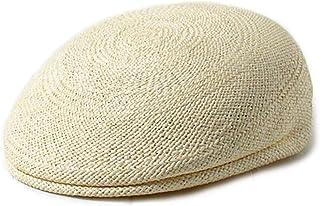 テシ エクアドル産 本パナマ ハンチング イタリア製 58~61 大きいサイズ 麦わら帽子 78-18041