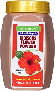 Unitedly's® Organic Hibiscus Powder for Skin Care-200 Gram