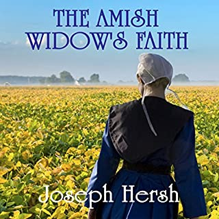 The Amish Widow's Faith Boxed Set 1-4 audiobook cover art
