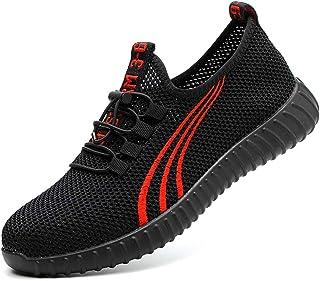 6cf9f6aba0 Zapatos de seguridad Calzado de trabajo zapatos para hombres y mujeres zapatos  de trabajo livianos y cómodos zapatos de seguridad para el trabajo de verano  ...