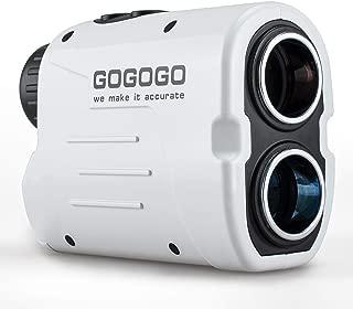 携帯型レーザー距離計 Rangefinder ゴルフスコープ光学6倍望遠 ゴルフ用 軽量 速度測定 連続測定軌道補正 角度データ 操作簡単 狩猟 トレイル スポーツ競技 登山 測量探査なども対応ホワイト
