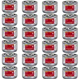 Chafing Dish Fuel Cans – Includes 24 Ethanol Gel Chafing Fuels, Burns for 2.5...