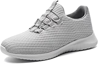 Echoine Women's Athletic Walking Sneakers - Lightweight Casual Knit Slip On Tennis Shoes