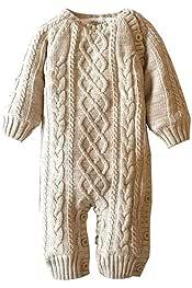 GYUANLAI Newborn Baby boy Girl Winter Warm One-Piece Hooded Romper Jumpsuits