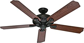 Hunter Indoor Ceiling Fan, with remote control - Royal 60 inch, New Bronze, 54018