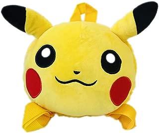 Beatrbior Pocket Monster Pikachu Cartoon Anime Plush Doll Stuffed Animal Toy (Backpack)