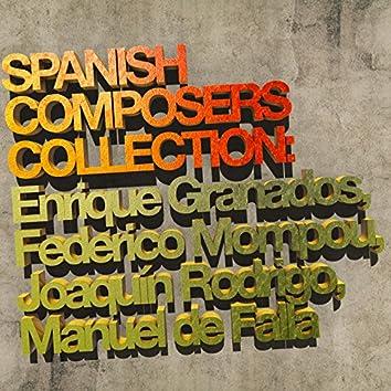 Spanish Composers Collection: Enrique Granados, Federico Mompou, Joaquín Rodrigo, Manuel De Falla