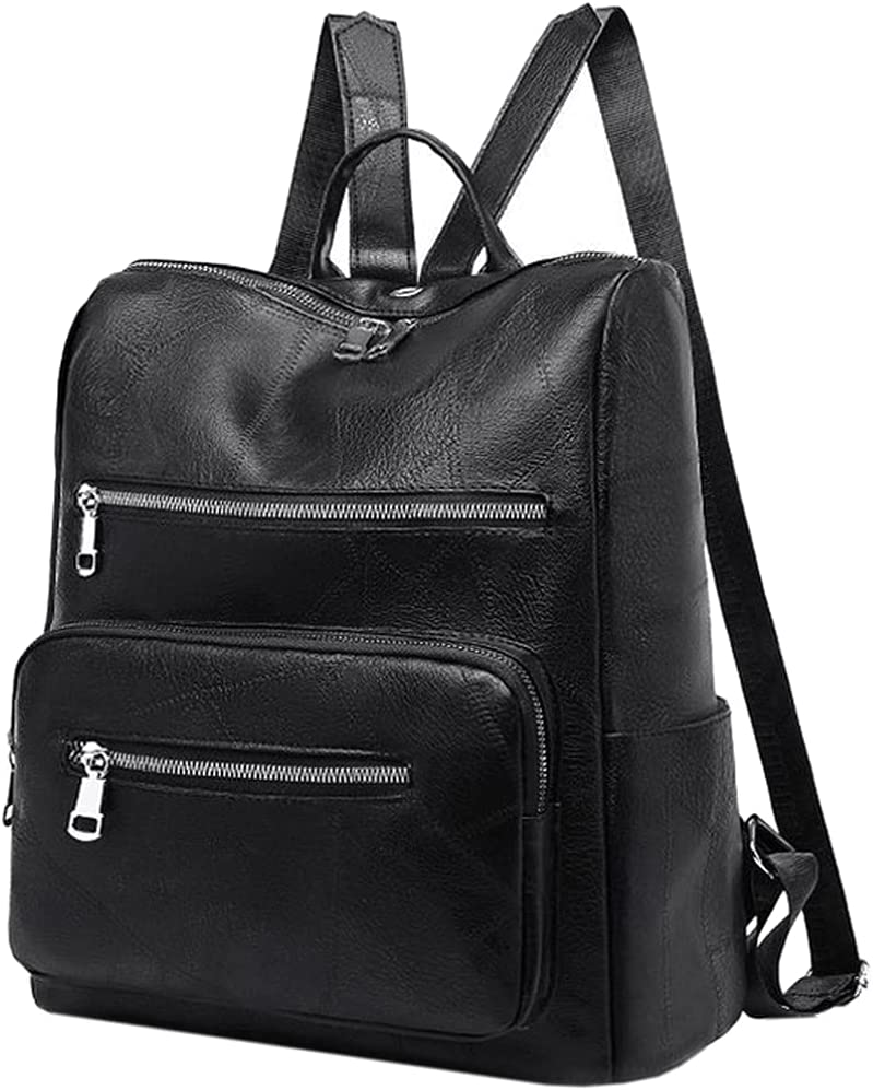 Women Backpack Purse Retro Multi New York 1 year warranty Mall Leather Pu Anti-theft