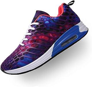 Wonvatu Women Men Breathable Fashion Running Sneakers Comfortable Lightweight Walking Athletic Shoes