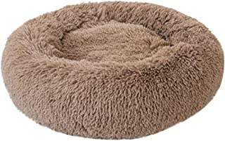 GorNorriss Dog Bed Cat Bed Faux Fur Self-Warming Cat and Dog Bed Cushion,Dog Kennels for Joint-Relief and Improved Sleep- Machine Washable, Waterproof Bottom