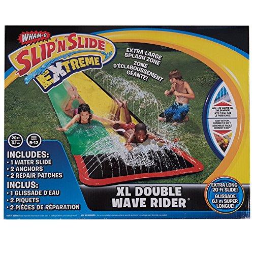 Wham-O Slip N Slide Wave Rider Water Slide Extreme XL Double 20ft Garden Toy