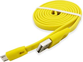 Air Flying wing Replacement Charging Charge Cable Cord for Logitech UE Boom/Boom 2/ Boom 3 Megaboom, Miniboom, Roll Wireless Speaker and Logitech Headphone - Yellow