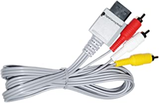 Digital Gaming World® Composite AV Cable for Wii And Wii-U Consoles (New stock)