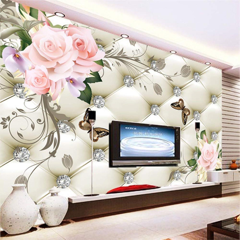 barato Papel Papel Papel tapiz Art Foto Mural WJbxx Moderno decoración del hogar mural de la parojo de encargo cualquier tamao de gran fondo de pantalla para sala de estar flores suaves artística mural  exclusivo