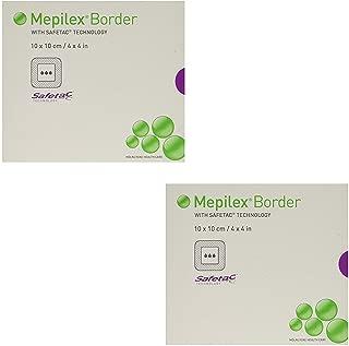 Mepilex Border Self-Adhesive Foam Dressings 4