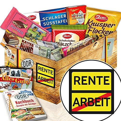 Rente / Schokolade Ostbox / Frauen im Ruhestand
