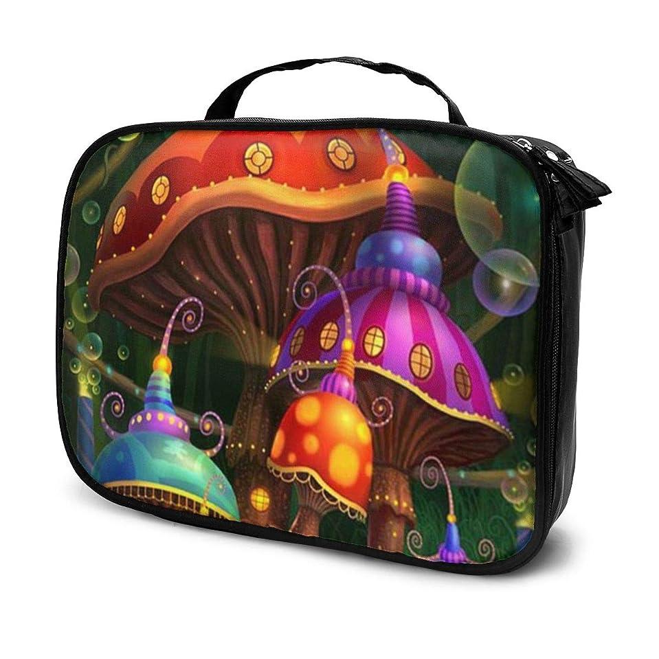 管理者どんなときも慢なDaitu不思議の国の魔法のアリス 化粧品袋の女性旅行バッグ収納大容量防水アクセサリー旅行