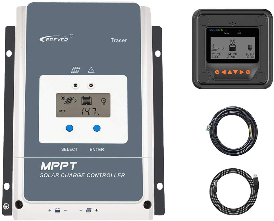 EPEVER MPPT Solar Charge Controller Negative Ground New York Mall 150V Bombing new work 50A PV