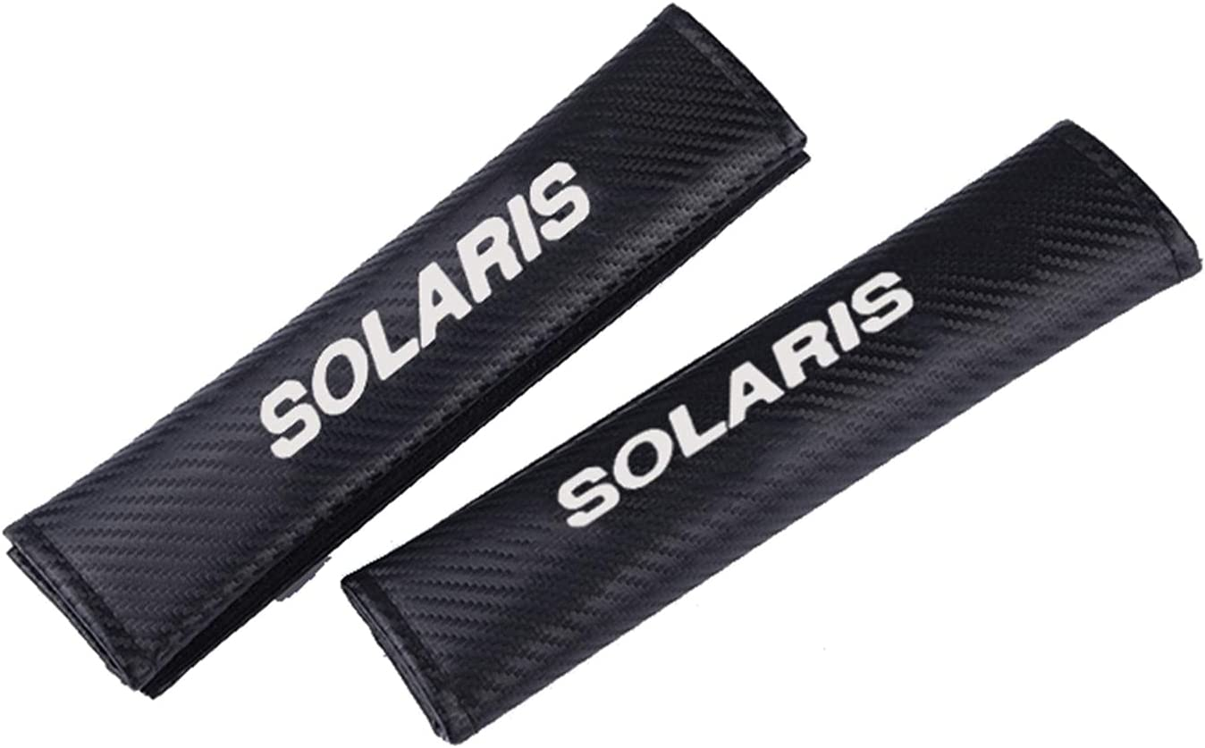 WSZMD Suitable for Don't miss the campaign Hyundai Solaris Car Elegant Seat Pad Belt Shoulder PU
