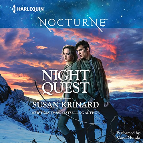 Night Quest audiobook cover art