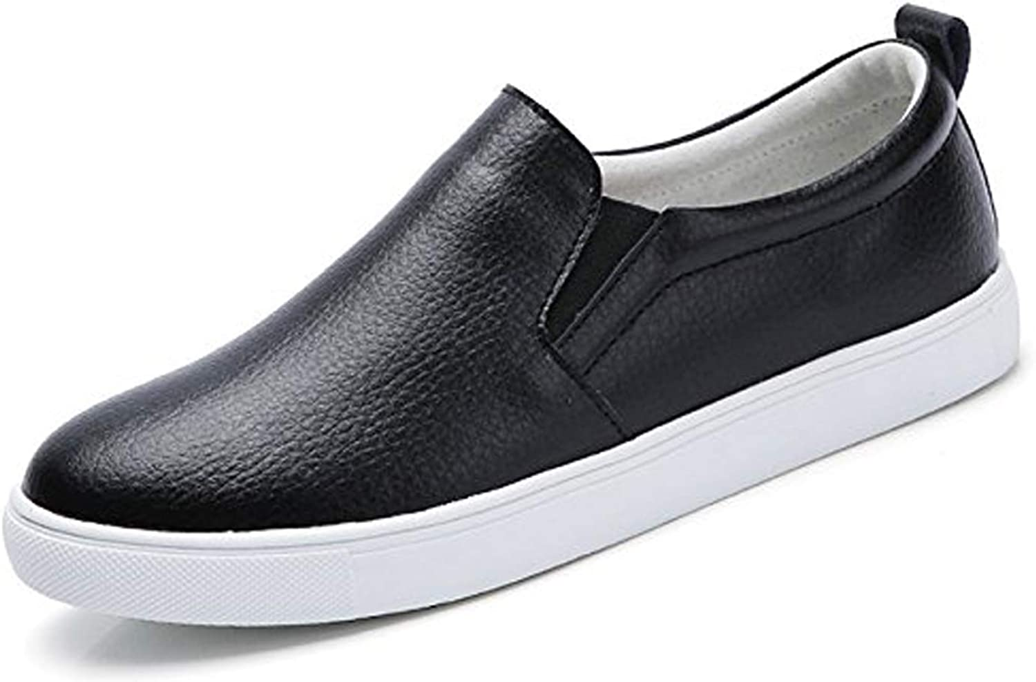 TSIODFO Women's Loafers Flats shoes Genuine Cow Leather Comfort Moccasins Slip On Fashion Sneakers
