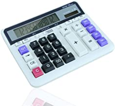 $81 » Basic Calculator Solar Battery Dual Power Office Calculator, 12-Digit Solar Battery Basic Calculator, With Large LCD Display And Large Buttons,for Mathematics, Teaching, Office for Daily and Basic Off