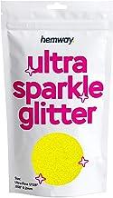"Hemway Ultra Sparkle Glitter - Ultrafijn 1/128"" 0.2mm - Cosmetisch veilig, epoxyhars, ambachten, bruiloften, decoratie, ku..."