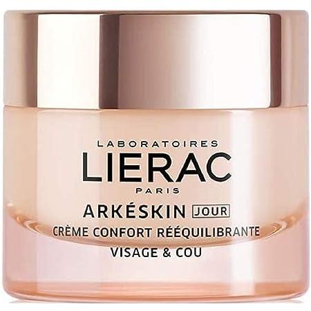 Lierac Arkeskin Crema Viso Giorno per la Pelle in Menopausa, Confort Riequilibrante con Acido Ialuronico, Formato da 50 ml