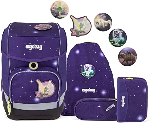 Ergosac School sac à dos Set (Set of 5) Galaxy GFaible Edition Cubo synthétique 19 I