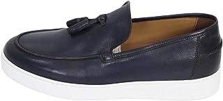 Zapatos Mocasín Casual Hombre ROGAL S ROGALS MUR 42 Cuero Azul Original PE 2021