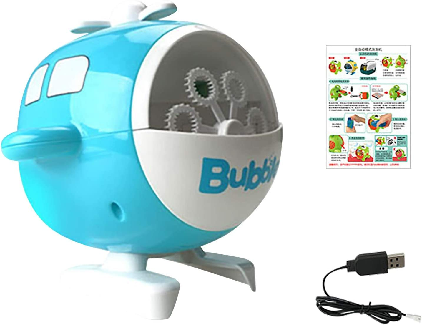 Automatic Bubble Blower sold out Portable 50ml Maker Bu Raleigh Mall